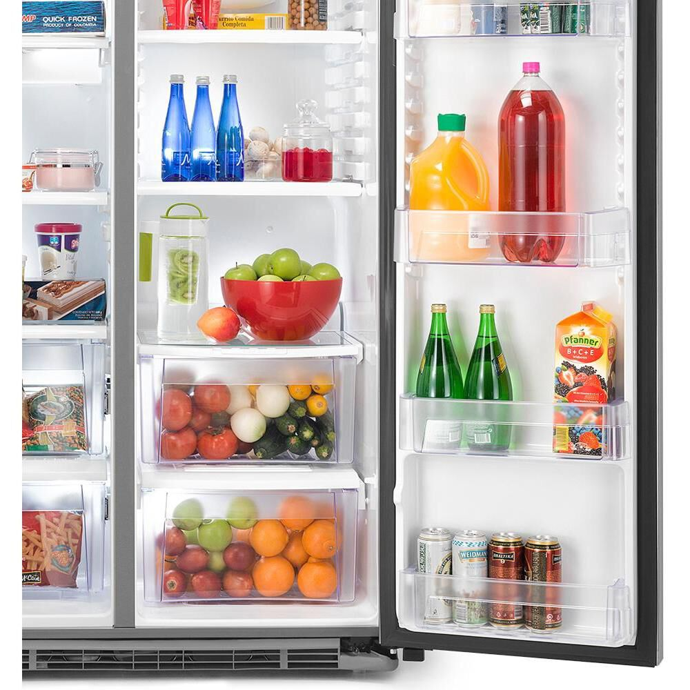 Refrigerador Side By Side GE GRC22LFKFSS / No Frost / 549 Litros image number 2.0