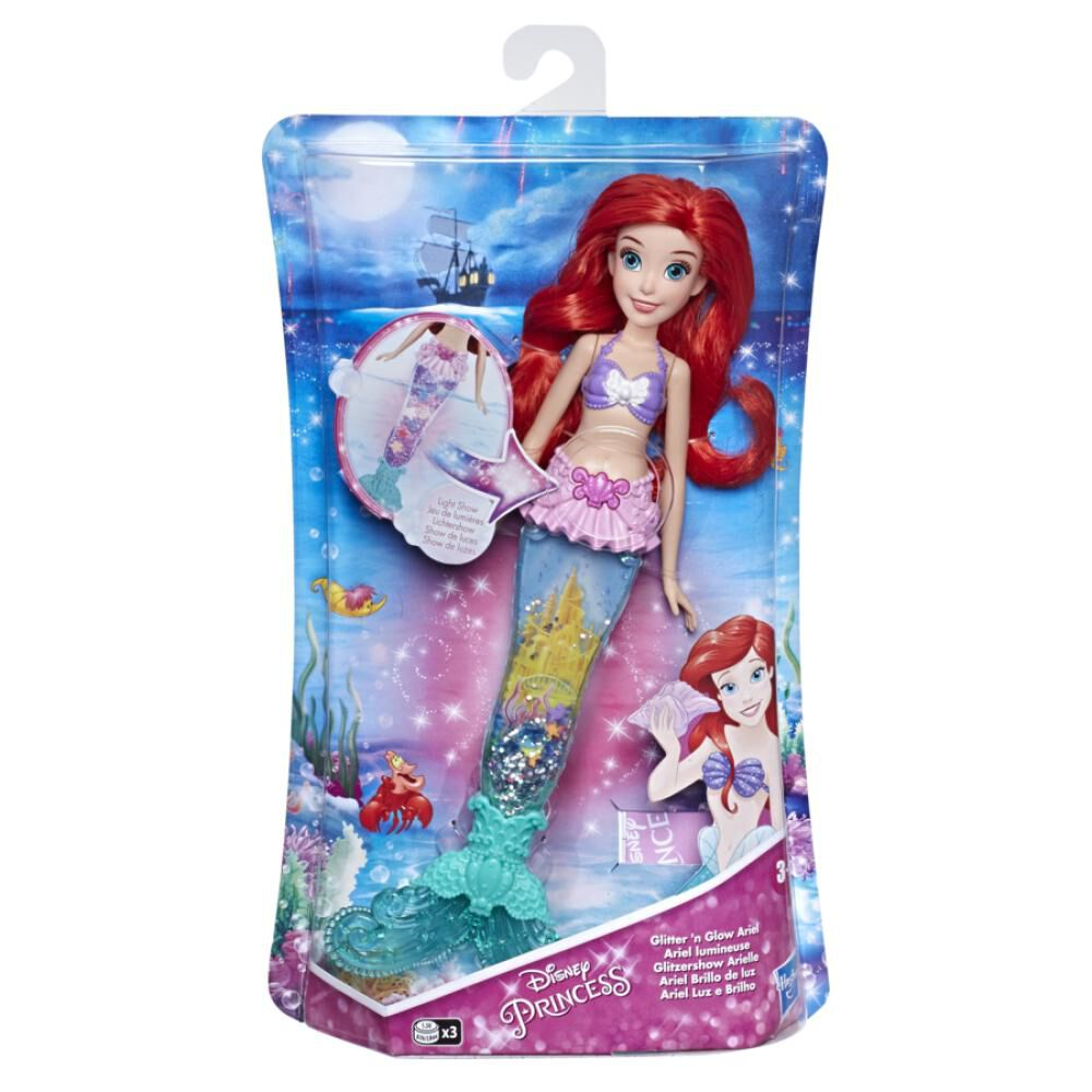 Muñeca Disney Princess Feature Ariel image number 1.0