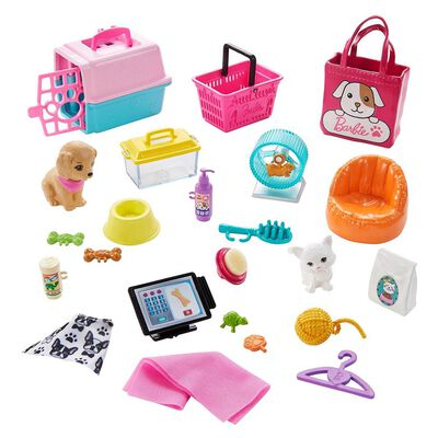Muñeca Barbie Tienda De Mascotas