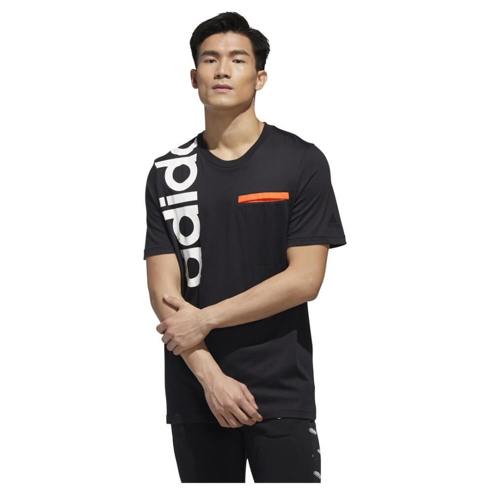 Polera Hombre Adidas M New Authentic Tee image number 0.0