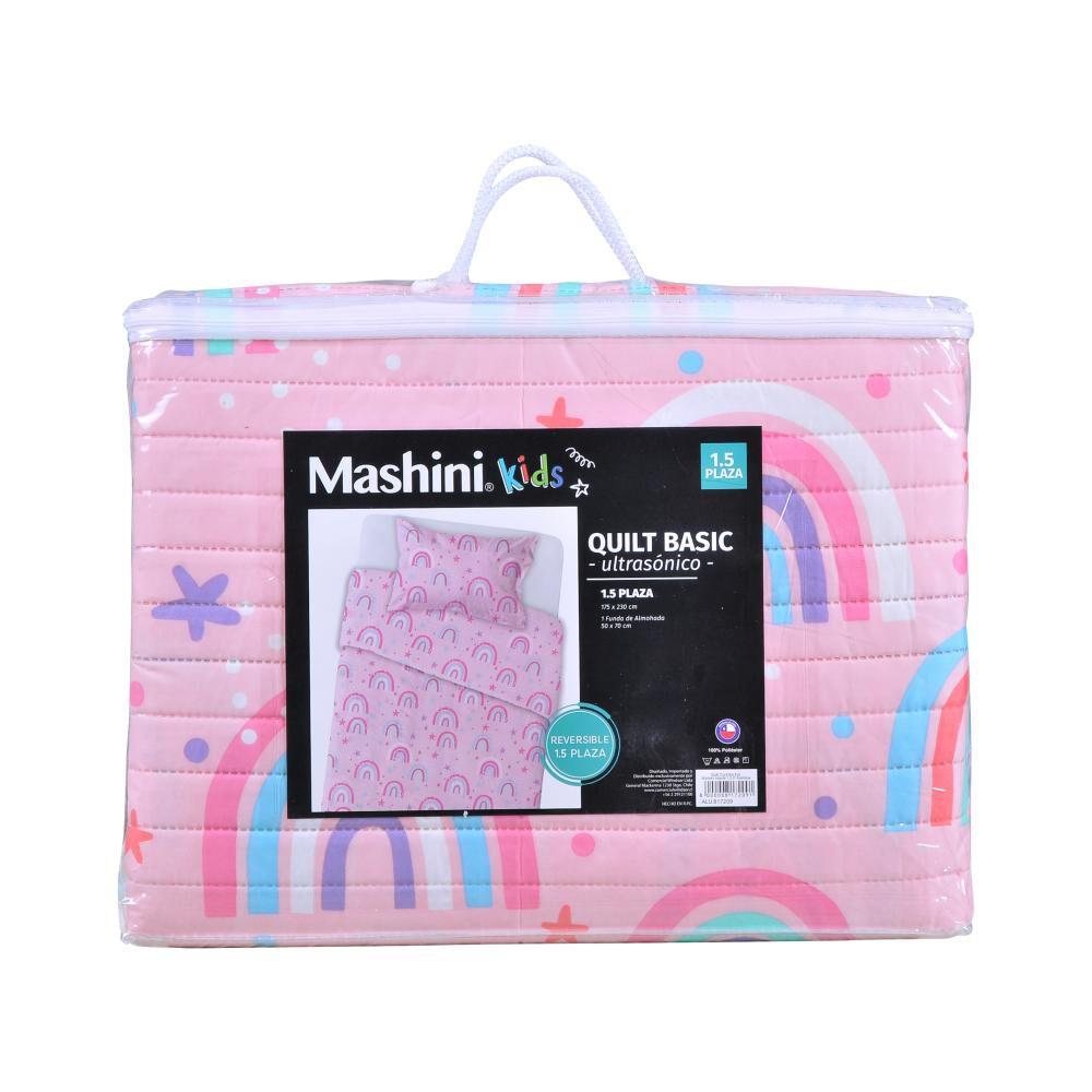 Quilt Mashini Rainbow / 1.5 Plazas image number 2.0