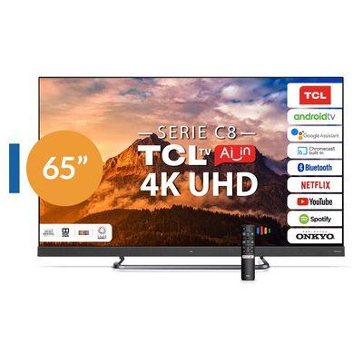 "Led TCL 65C8 / 65"" / Ultra Hd / 4K / Smart Tv"