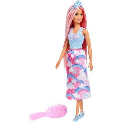 Muñeca Barbie Princesa Peinados Mágicos