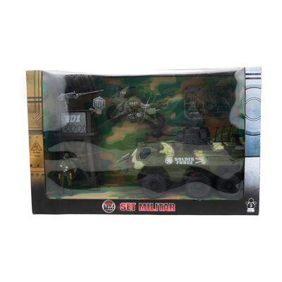 Set De Juguetes Hitoys Militar - Camion