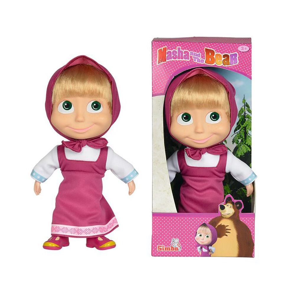 Muñeca Masha Y El Oso Soft Doll Macha En Oferta Hites Com