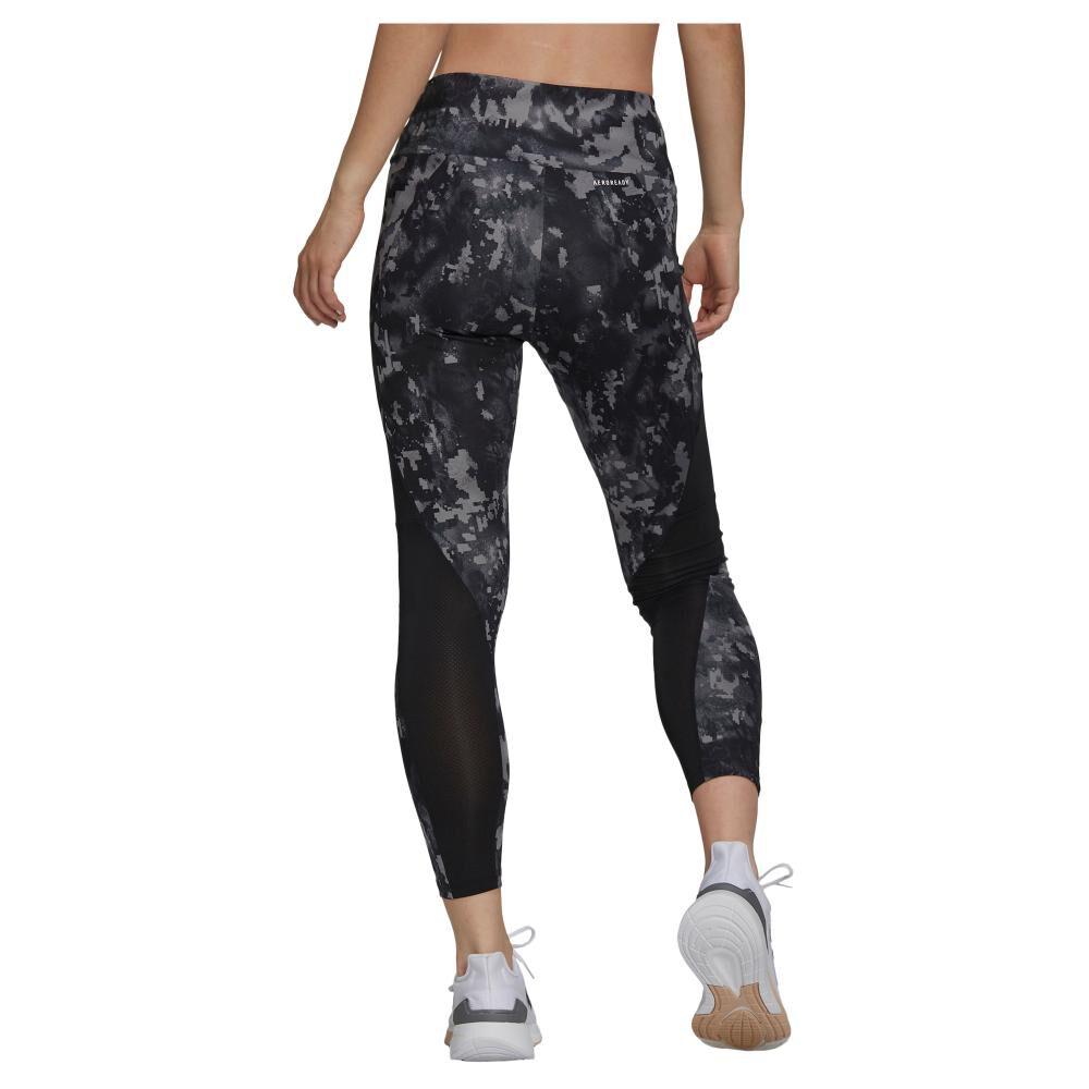 Calza Mujer Adidas Print 7/8 High Rise image number 2.0