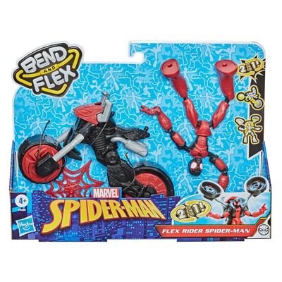 Figura De Acción Spiderman Flex Rider Spiderman