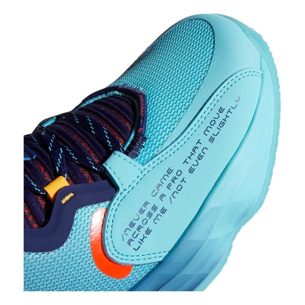 Zapatilla Basketball Hombre Adidas Dame 7 Extply image number 3.0