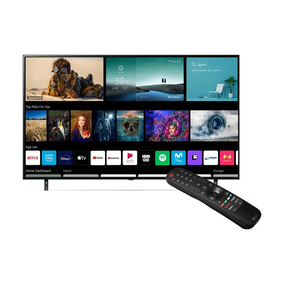 "Led LG 55NANO80SPA / 55 "" / Ultra HD 4k / Smart Tv image number 1.0"