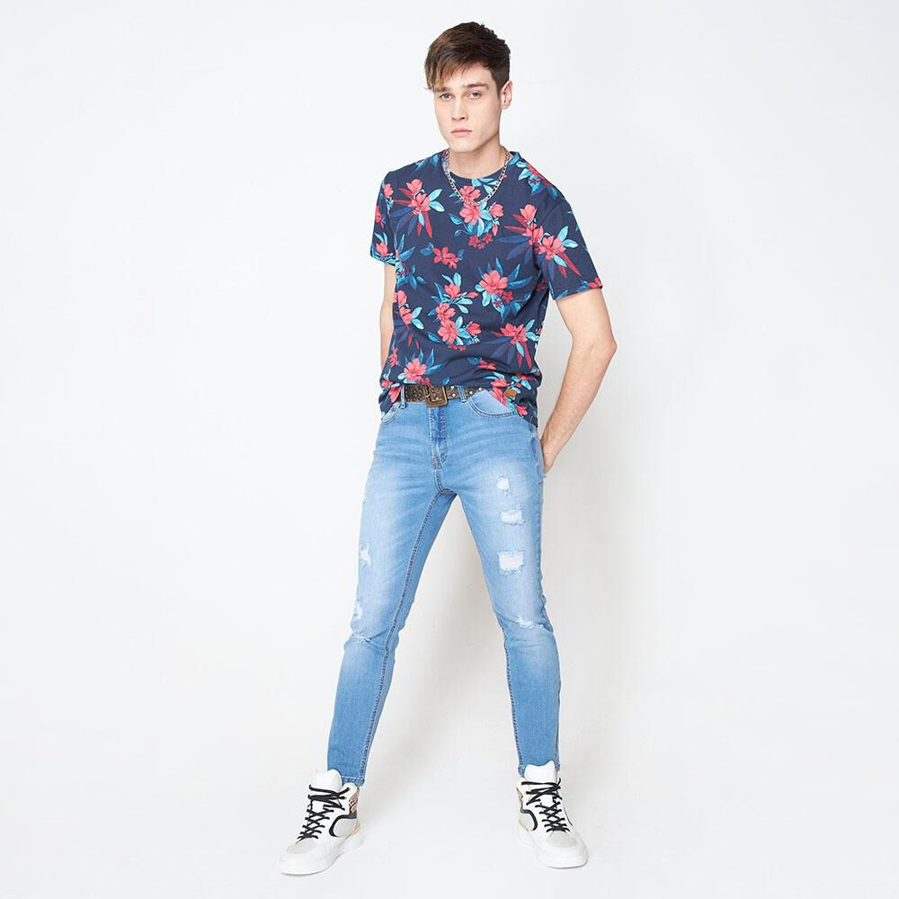 Polera Hombre Rolly Go image number 2.0