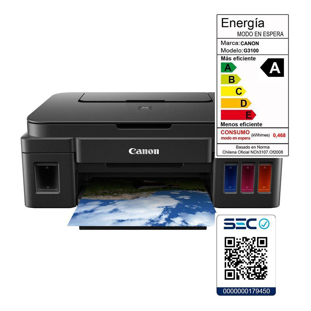Impresora Multifuncional Canon G3100 T/C Wifi image number 3.0