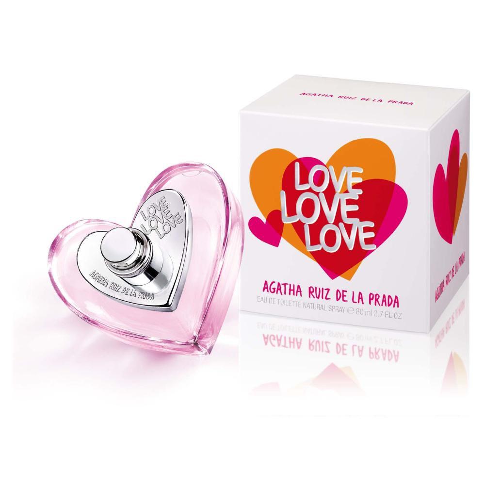 Perfume Love Agatha Ruiz / 80 Ml / Edt image number 0.0