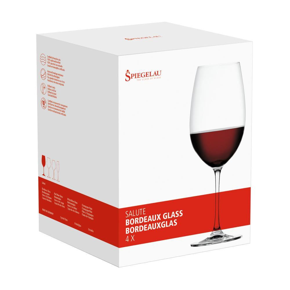 Set De Copas Spiegelau Salute Bordeaux / 4 Piezas image number 2.0