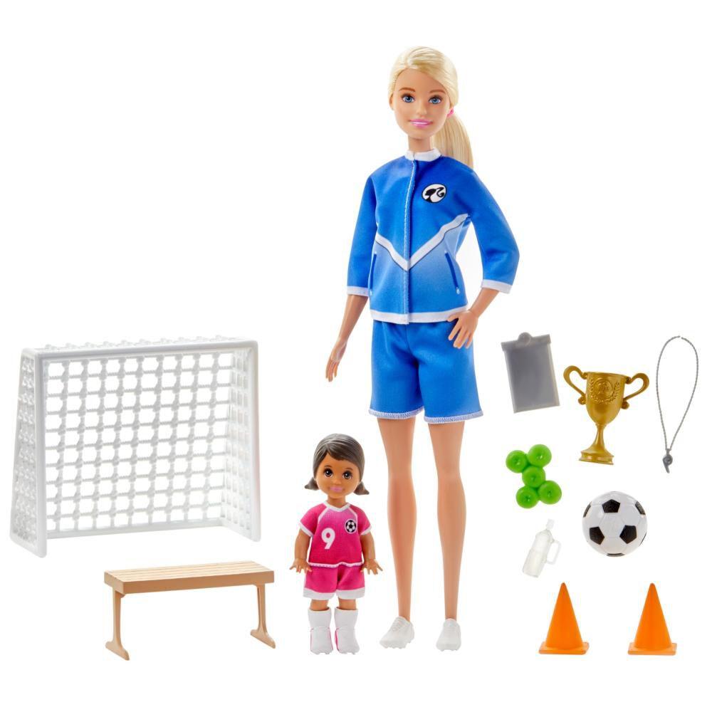Barbie Careers Muñeca Maestra De Fútbol image number 0.0