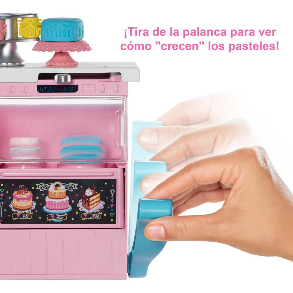 Muñeca Barbie Chef De Pasteles image number 1.0