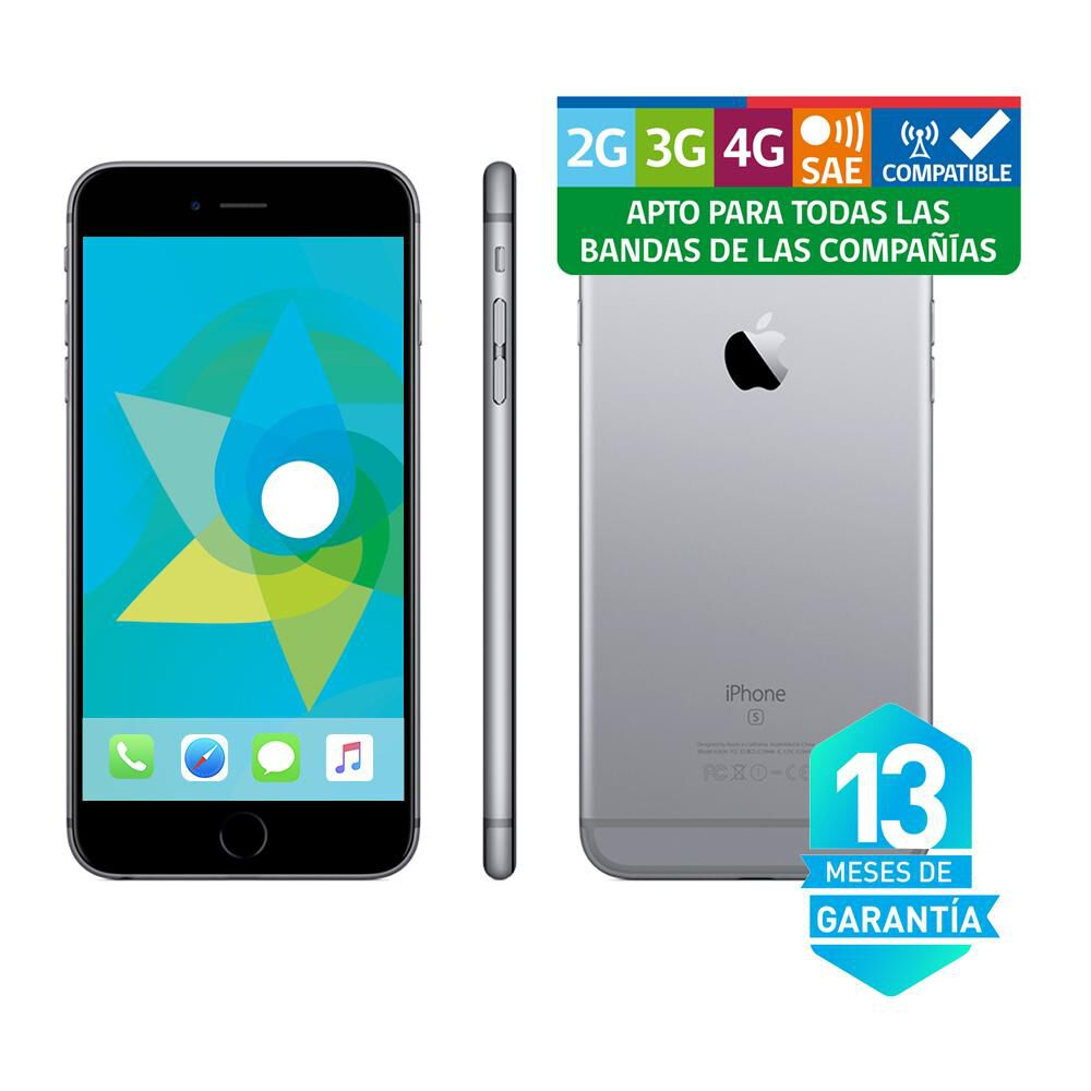 Smartphone Iphone 6S Reacondicionado Gris 64 Gb  / Liberado image number 3.0