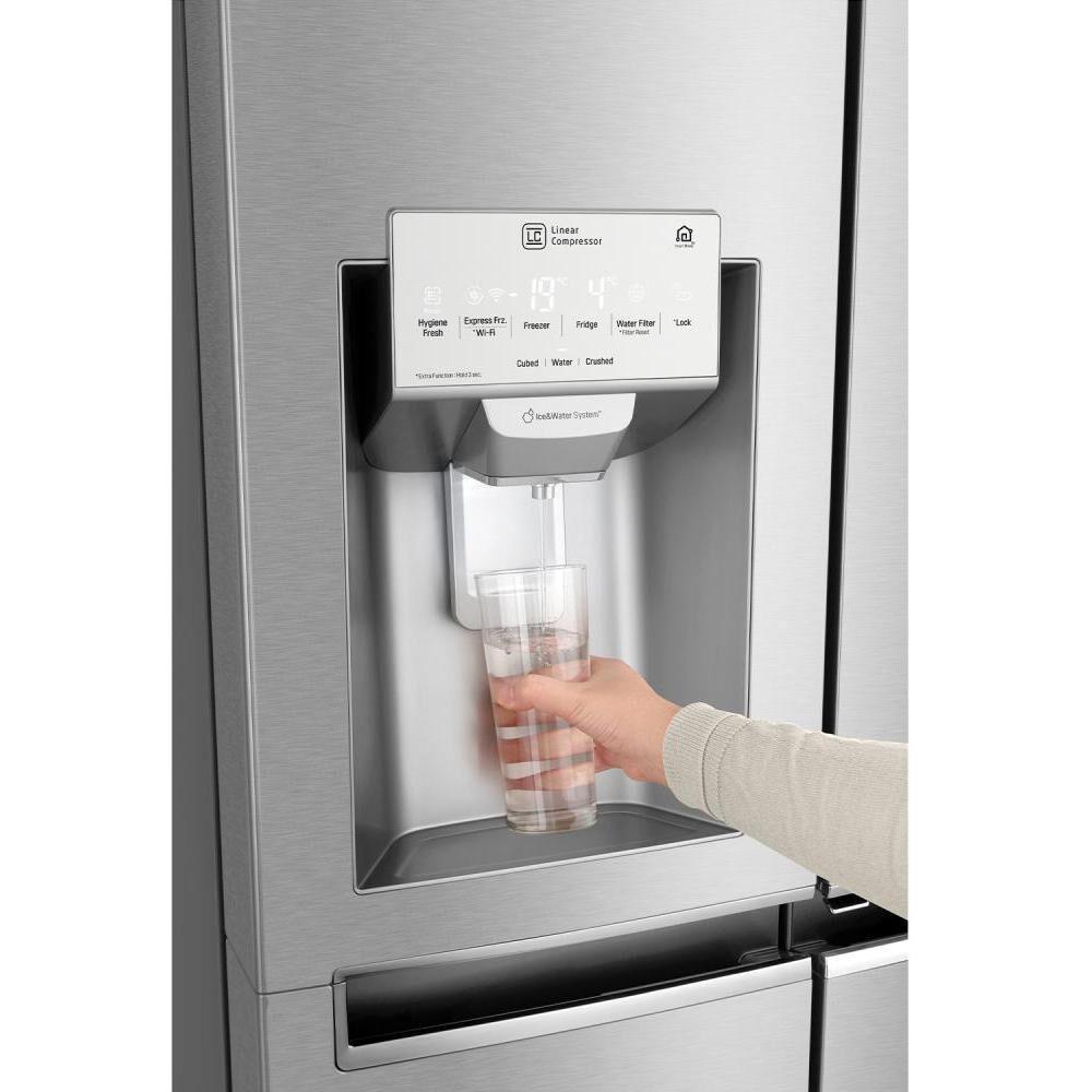 Refrigerador Side by Side LG LS64SXP / No Frost / 592 Litros image number 5.0
