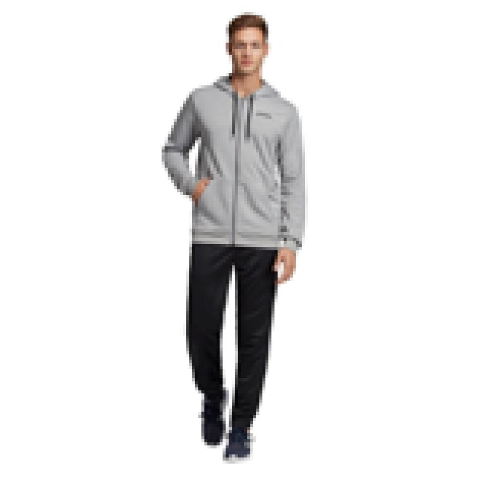 Buzo Con Capucha Hombre Adidas Linear French Terry image number 0.0