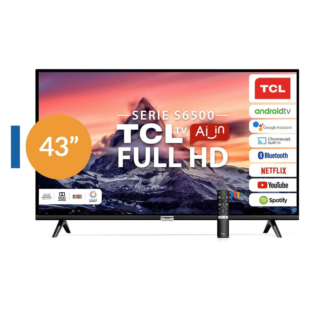 "Led TCL 43S6500 / 43"" / Full HD / Smart Tv image number 0.0"