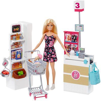 Muñeca Barbie Día De Compras