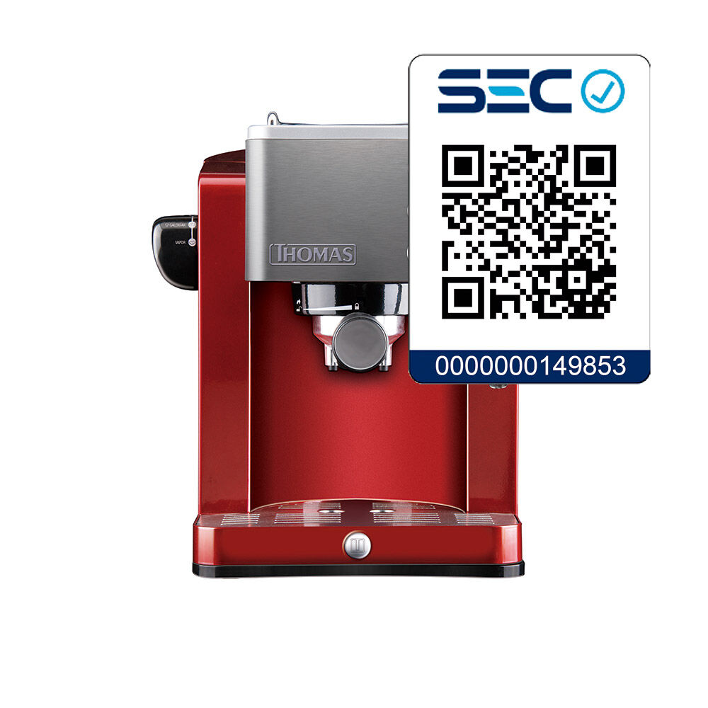 Cafetera Thomas Th-128R / 1.2 Litros image number 1.0