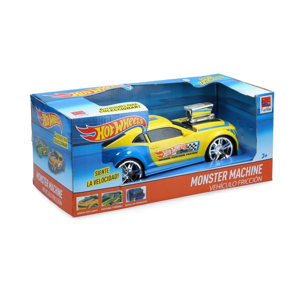 Autos De Juguetes Hotwheels Turbo Friction image number 0.0
