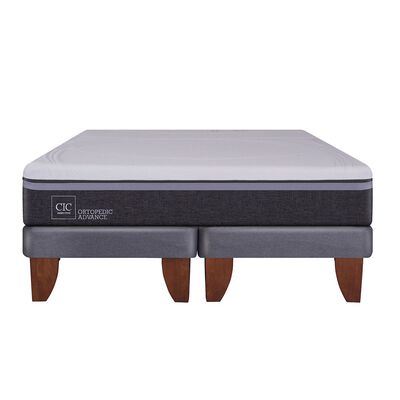 Cama Europea Cic Ortopedic Advance / Super King / Base Dividida