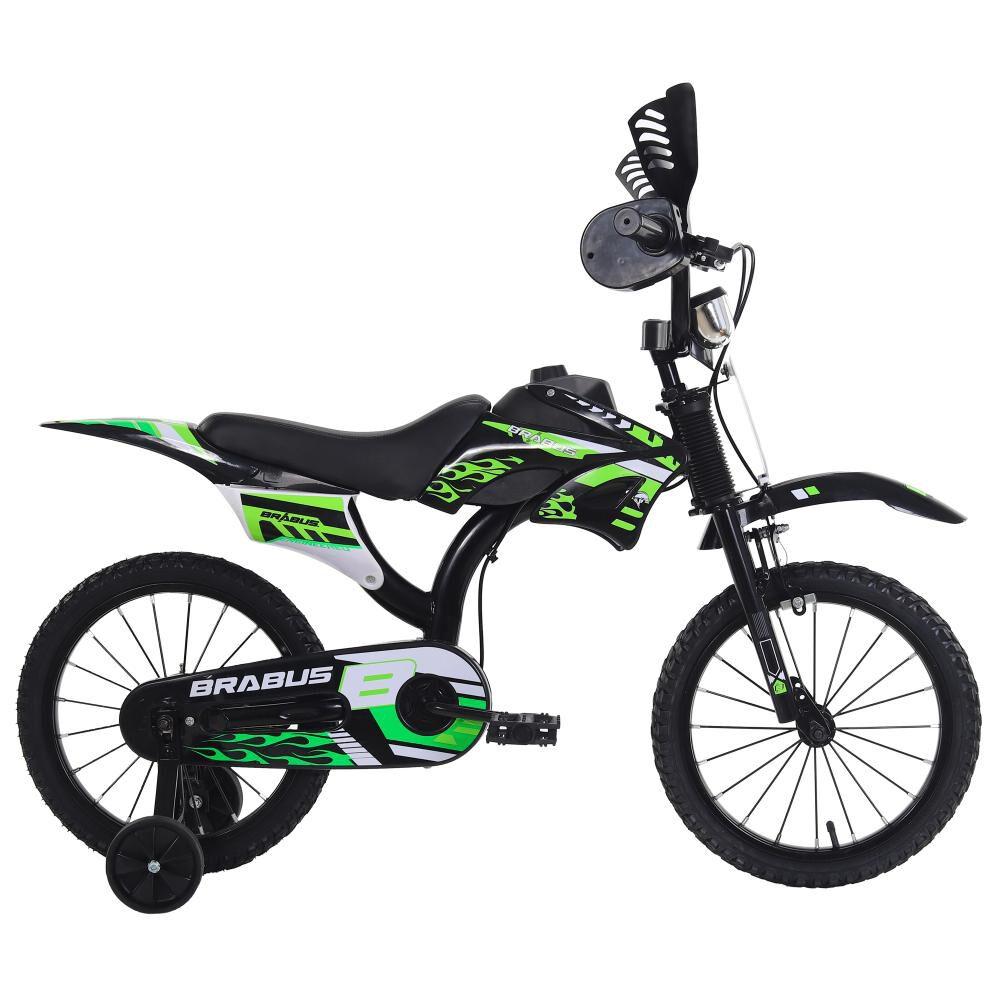 Bicicleta Infantil Brabus Motobike 1600 / Aro 16 image number 0.0
