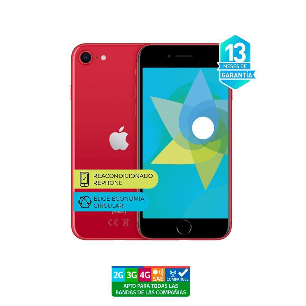 Smartphone Apple Iphone Se 2 Reacondicionado Rojo / 128 Gb / Liberado image number 3.0