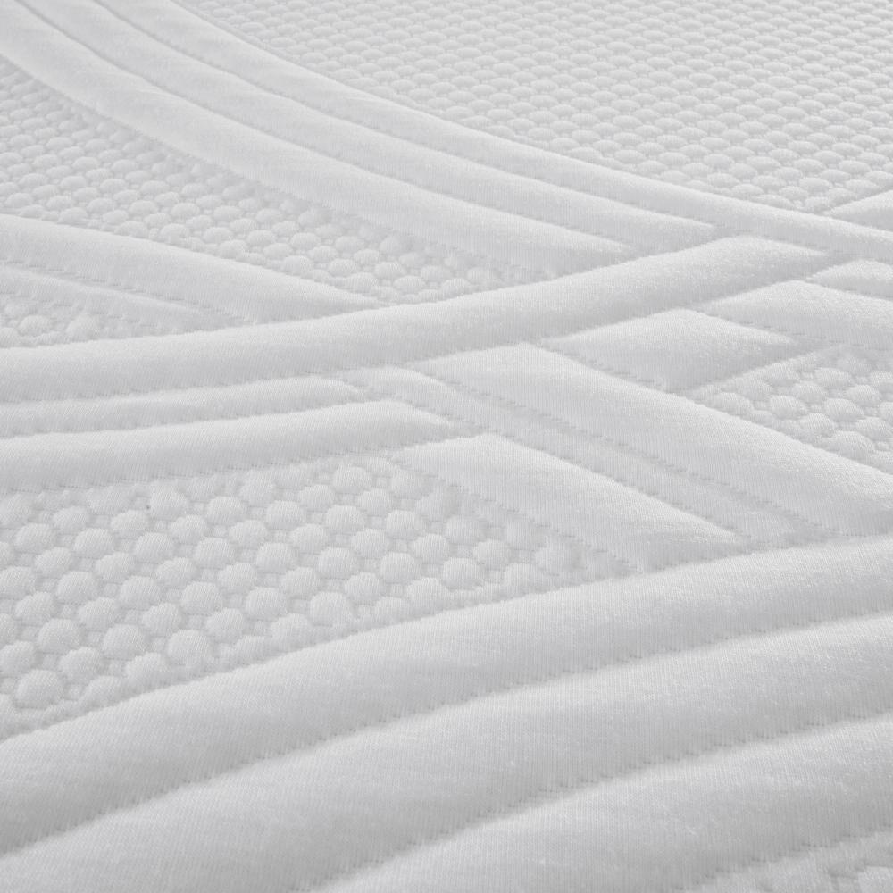 Cama Europea Cic Ortopedic / 2 Plazas / Base Dividida  + Set De Maderas + Textil image number 3.0