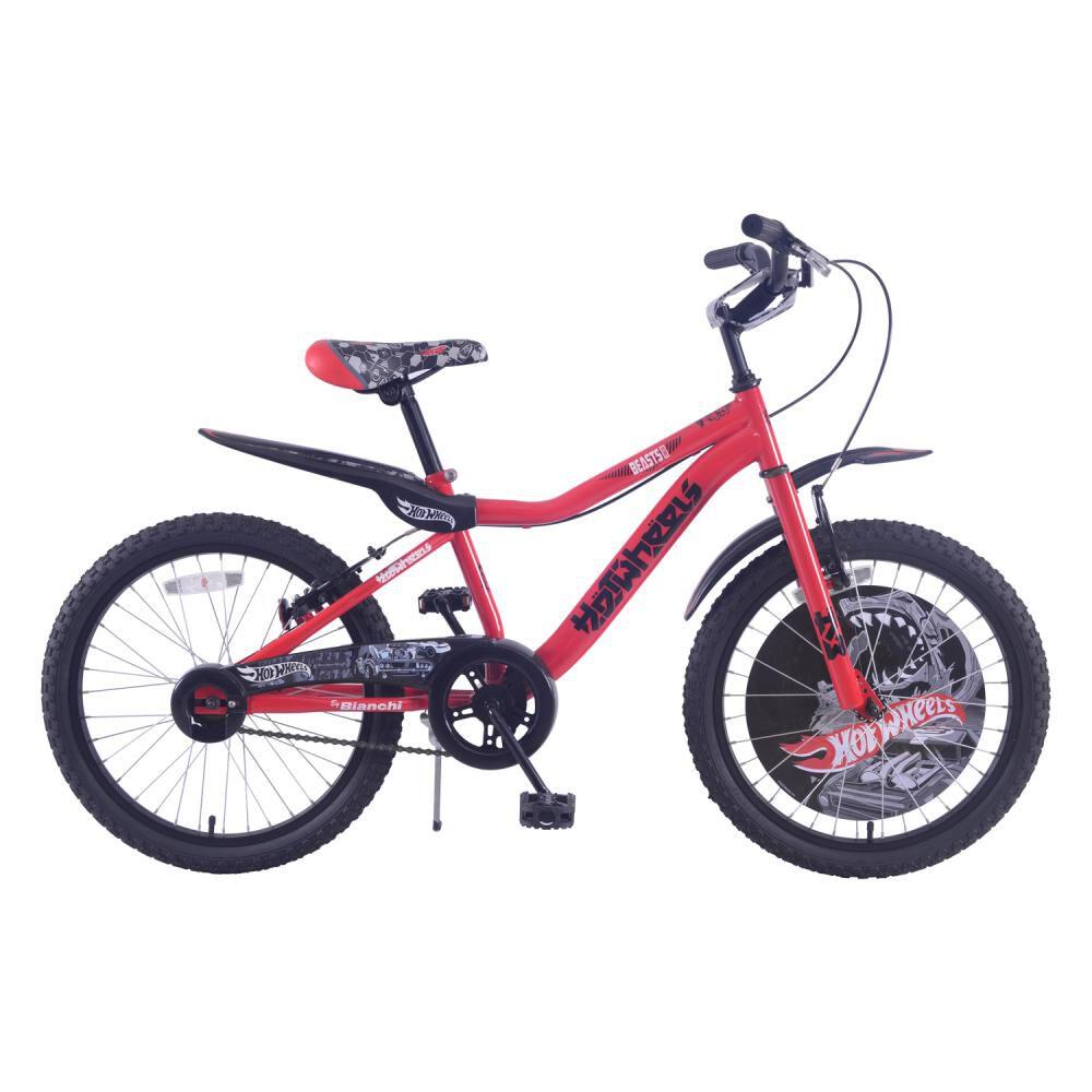 Bicicleta Infantil Bianchi Hot Wheels 20 / Aro 20 image number 0.0