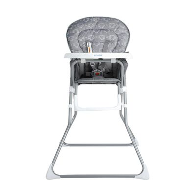 Silla De Comer Cosco Board Grey