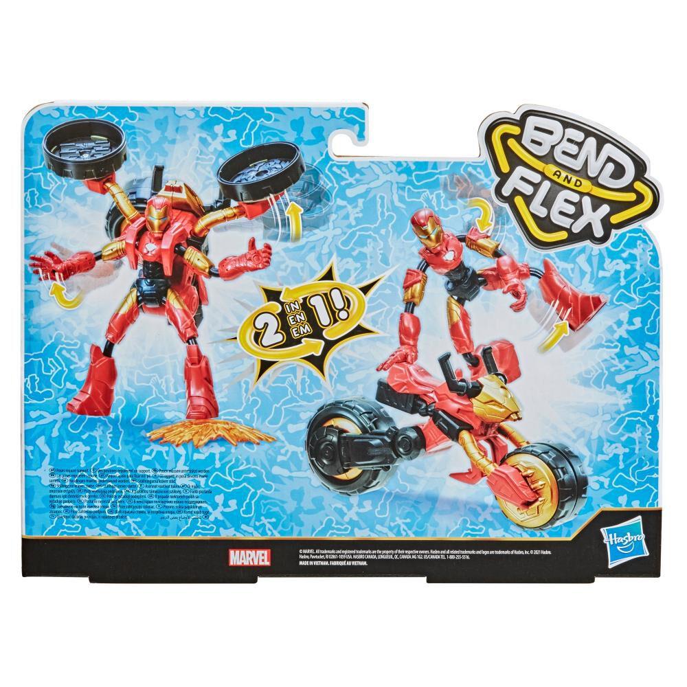 Figura De Acción Avenger Bend And Flex image number 6.0