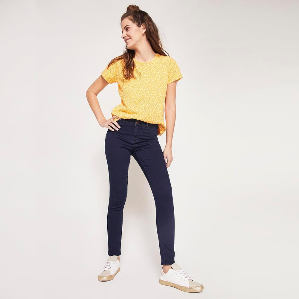 Jeans Mujer Tiro Alto Push up Freedom image number 1.0