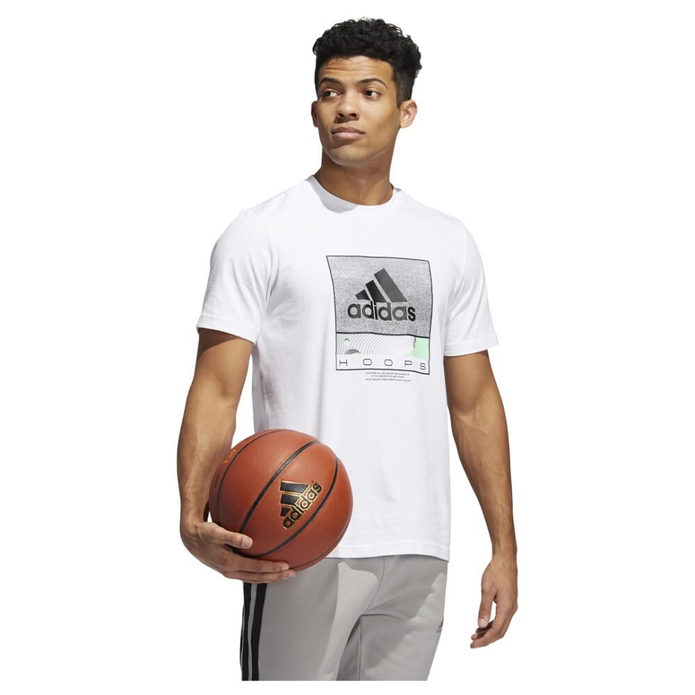 Polera Hombre Adidas Future Hoops Graphic image number 1.0