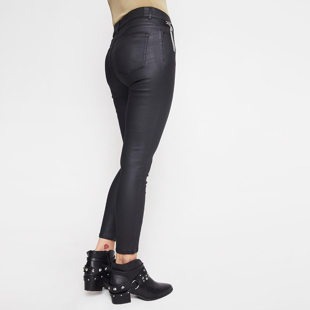 Jeans Mujer Tiro Alto PU Rolly Go image number 2.0