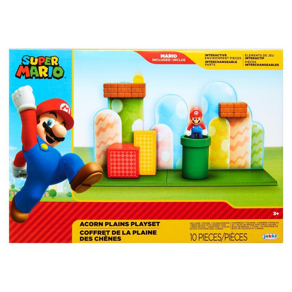 Figura Coleccionable Nintendo Playset Acorn Plains image number 0.0