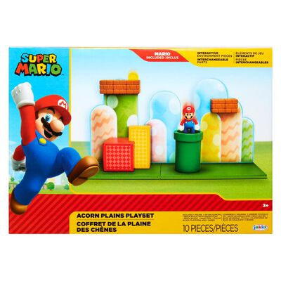 Figura Coleccionable Nintendo Playset Acorn Plains