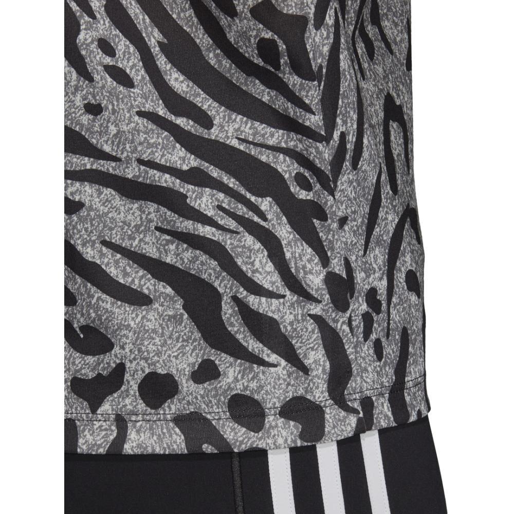 Camiseta Mujer Adidas Allover Print image number 5.0