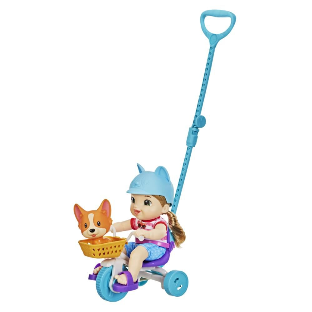 Muñeca Baby Alive Littles Triciclo De Paseo image number 4.0