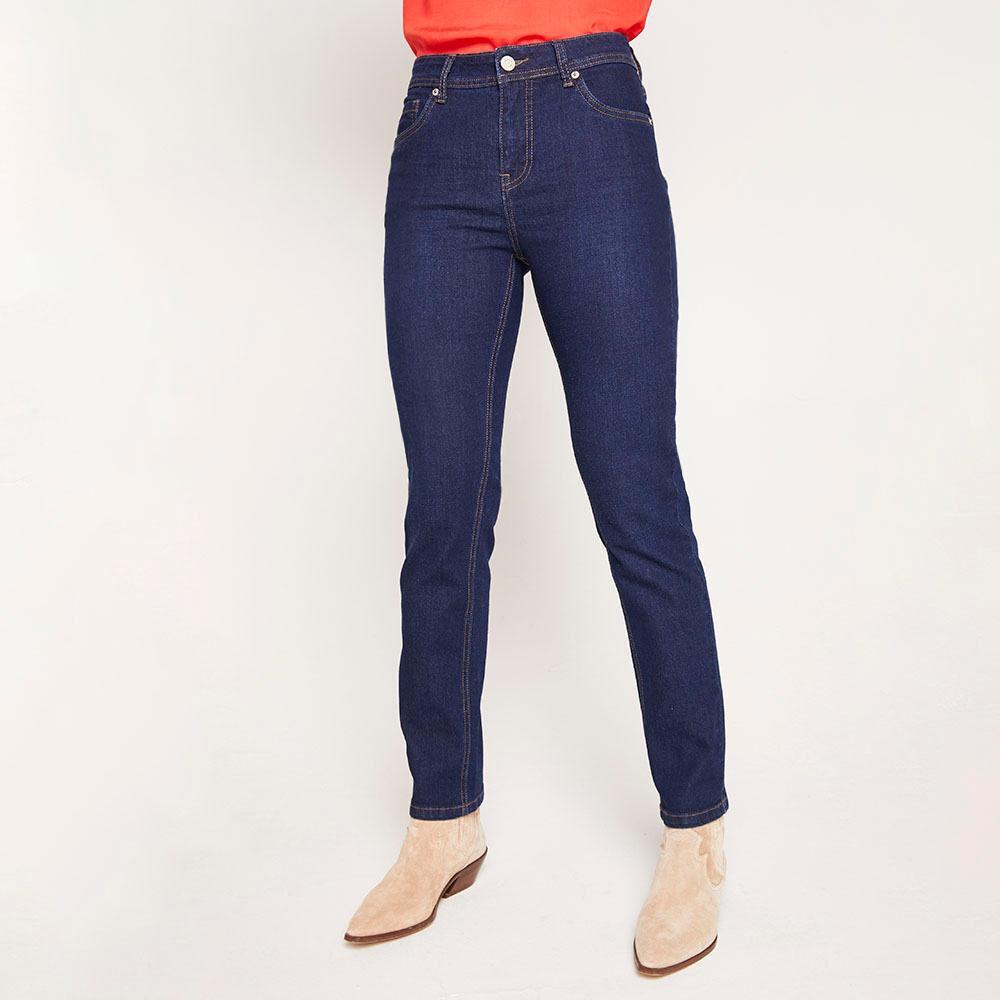 Jeans Tiro Medio Skinny Mujer Geeps image number 0.0