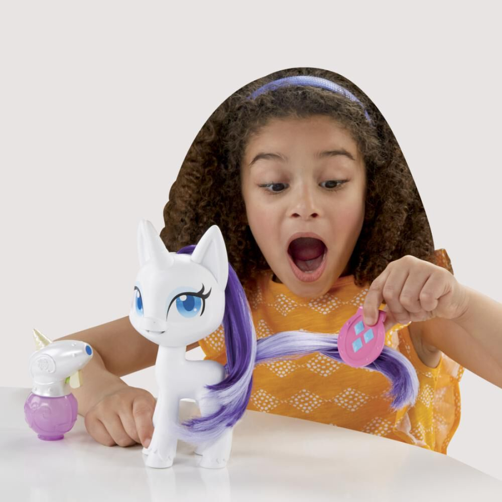 Muñeca My Little Pony Rarity Cabellos Mágicos image number 4.0