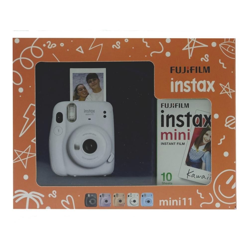 Cámara Instantánea Fujifilm Instax Mini 11 Blanco + Película image number 1.0