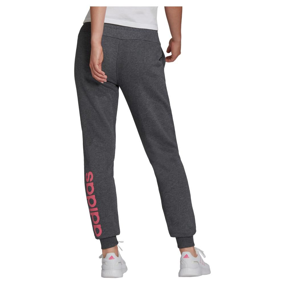 Pantalón De Buzo Mujer Adidas Essentials French Terry Logo image number 1.0