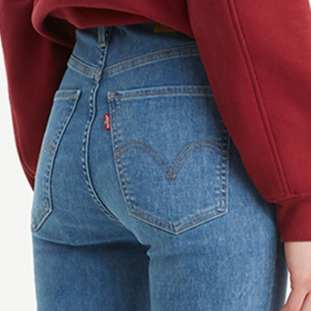 Jeans Mujer Super Skinny Tiro Alto Levi's image number 3.0