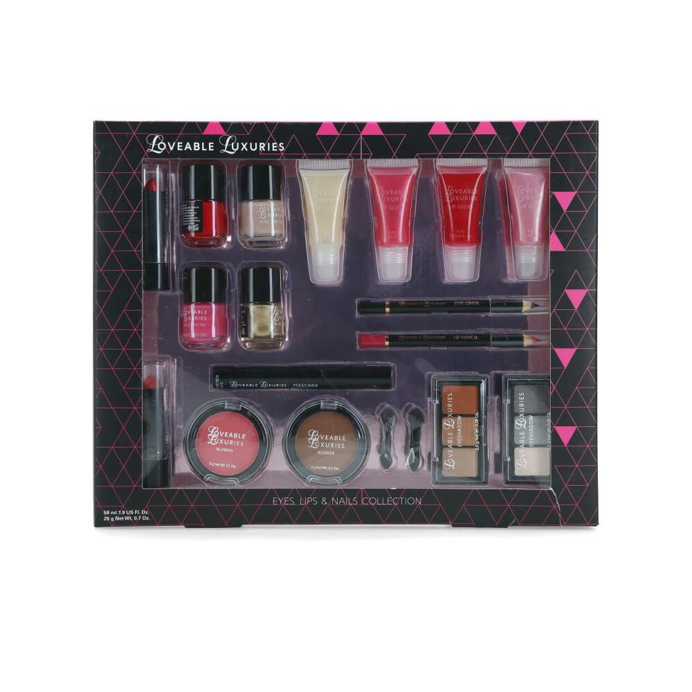 Set De Maquillaje Loveable Luxuries image number 0.0