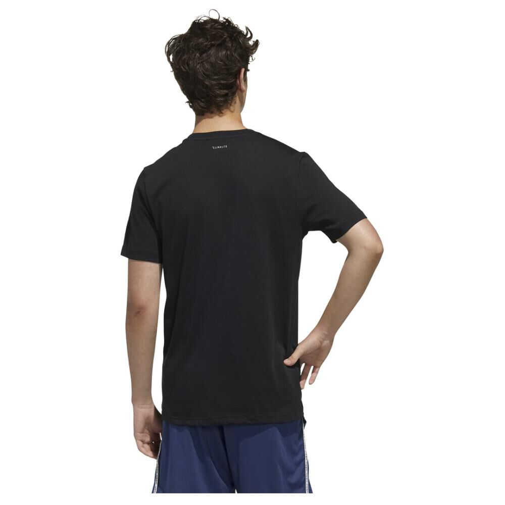 Polera Adidas M Core Graphic Linear Tee 2 image number 5.0