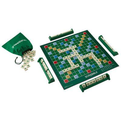 Juegos Familiares Mattel Scrabble Original