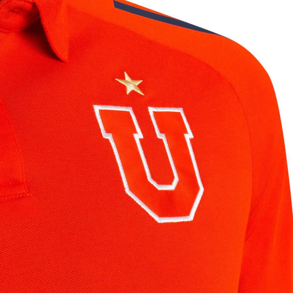 Polera Deportiva Hombre Adidas Universidad De Chile Polo image number 2.0