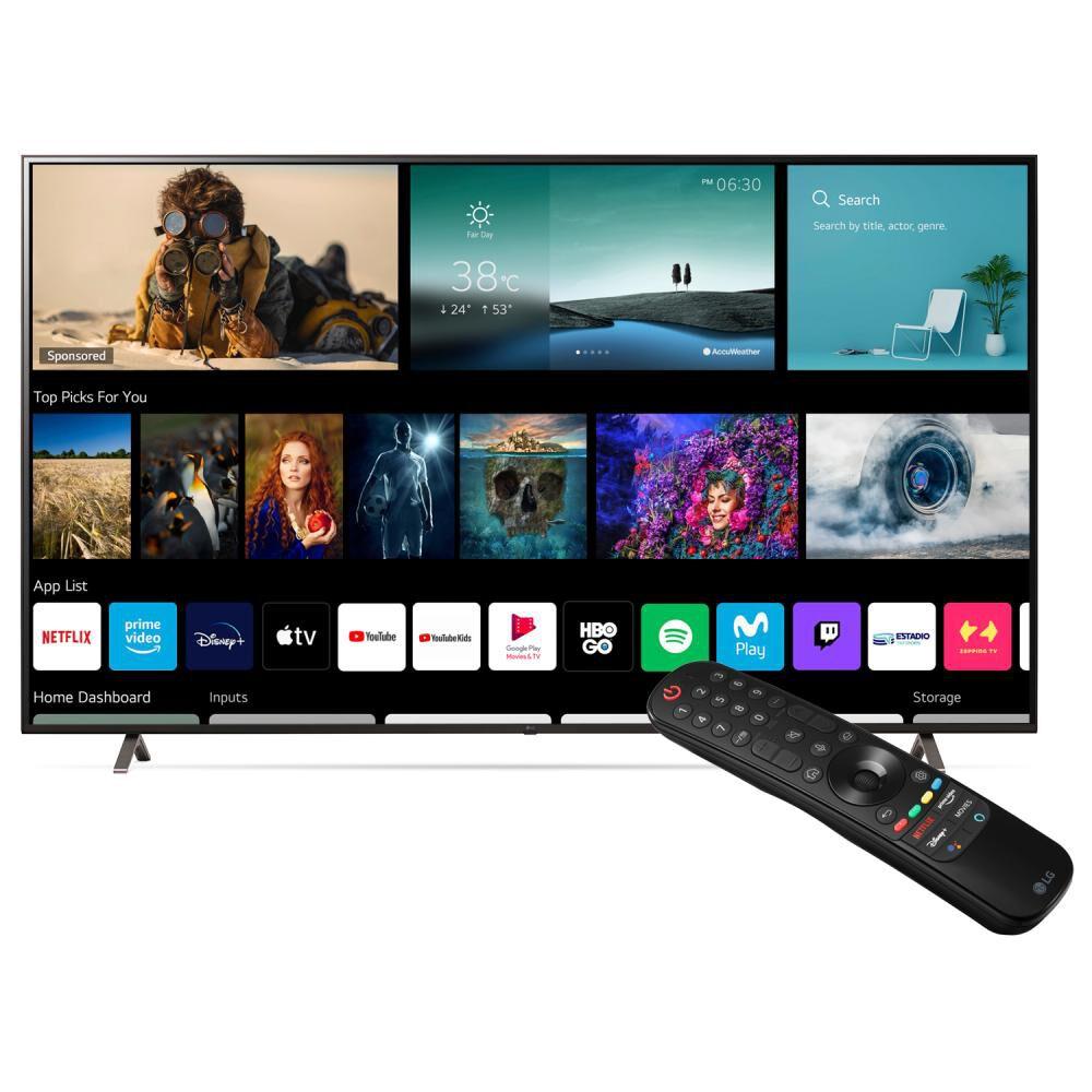 "Led Lg 86up8050psb / 86 "" / Ultra Hd / 4k / Smart Tv image number 1.0"